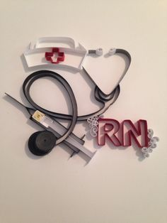 Nurse quilling for a special nurse that has helped when you were in need