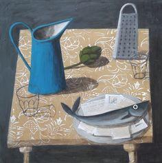 Artwork by Astrid Trugg Painting Still Life, Still Life Art, Utrecht, Food Illustrations, Illustration Art, Cricut, Contemporary Paintings, Art Drawings, Drawing Art