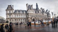 On the agenda are BHV and 'Galeries Lafayette'. In between the two is the City Hall from which you can see the Notre Da… Adventure Travel, Louvre, Europe, France, City, Adventure Tours, Early French, Louvre Doors
