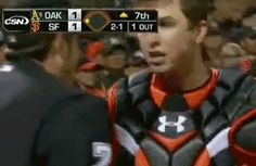 What's that you say? You cost the Giants a run with a call so bad it even made Buster Posey curse? Yeah, no sh*t.