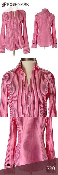 EXPRESS DESIGN STUDIO LONG SLEEVE Button-down shirt. Like new. Express Tops Button Down Shirts