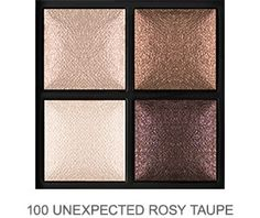 KIKO 100 Unexpected Rosy Taupe eyeshadow palette / baked eyeshadow