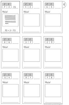 hier mal 5 Arbeitsblätter zur Zahldarstellung mit Strichen und Punkten... LG Gille Schrift: Grundschrift Will Software hier ein...