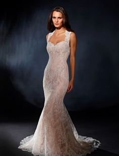 Marisa - Sweetheart A-Line Gown in Lace
