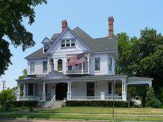 Shreveport, Louisiana, The Logan Mansion...