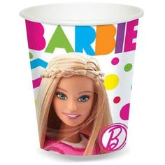 Package includes (8) paper cups. Holds 9 fl. oz. This is an officially licensed Mattel product.
