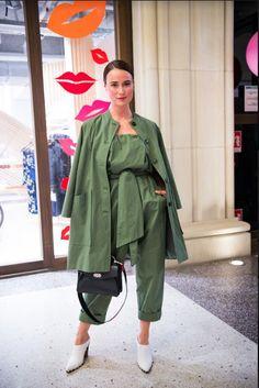 Ganni street style | Lena lademann | Fabre Cotton Jumpsuit | Picture by Jelena Filipinski