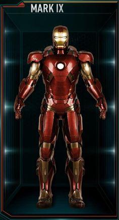 Iron Man Hall of Armors: MARK IX