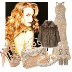 """Champagne Evening"" by jacque-reid on Polyvore"