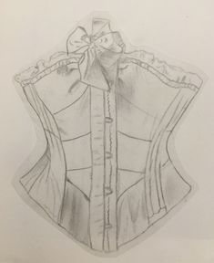 #fashion #sketches #sketching Fashion Sketches, Sketching, Corset, Art, Art Background, Fashion Sketchbook, Bustiers, Kunst, Corsets