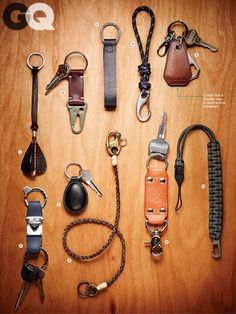 Upgrade Your Chains and Fobs to Unlock this ... | Leather Inspiration…