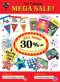 WOW! It's Mega Sale! All items 30% off on our shop: http://www.thepedagogs.com/cscart/index.php Happy Shopping! Cheers!