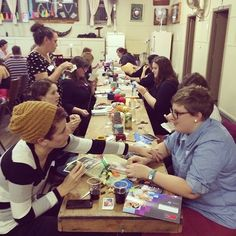 MAD Craft Party: Makers and Designers Australia. Craft Party, Paper Piecing, Basket Weaving, Hand Sewing, Mad, Workshop, Designers, Paper Crafts, Australia