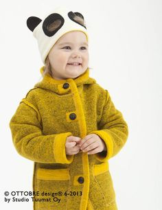 cuteness. I wouldn't mind having that coat for myself.