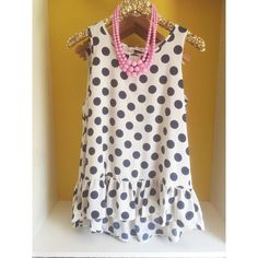 FOR STITCHFIX STYLIST: Love this polka-dot ruffle hem top for spring/summer from Truckshop!!