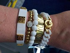 Love the Gold Cuff Quote Stack!