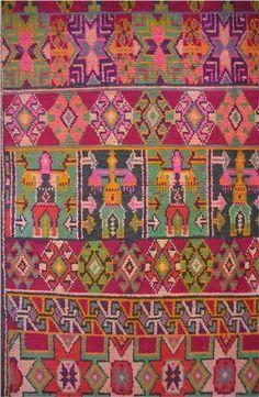 detail. Algerian Berber Rug    Wool