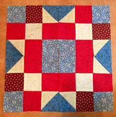 Benjamin Franklin quilt block