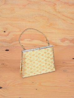 Vintage 50's Purse Gold Clutch I Dream Of Genie by ThatchVintage, $24.00