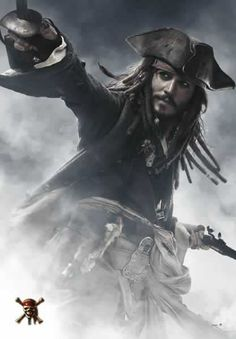 Poster Jack Sparrow Los Piratas del Caribe 3 En el fin del mundo Poster del intrépido y aventurero Jack Sparrow nos encandila con sus aventuras en esta saga de piratas con ritmo trepidante.