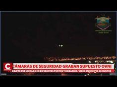 Cámaras de seguridad captan supuesto OVNI en la Ciudad de Arequipa. | Realidad OVNI