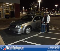 Happy Anniversary to Lenora Eubanks Early on your 2013 #Dodge #Avenger from Luster Adams and everyone at Wolfchase Chrysler Jeep Dodge! #Anniversary
