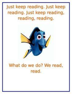 A fun poster for a Disney or Pixar themed classroom!