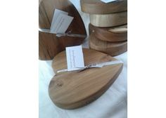 Handcut Scottish Wood Heart Chopping Blocks - and great slate products www.scottishslategift.co.uk