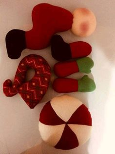Christmas Diy, Santa, Holiday Crafts, Christmas Crafts, Diy And Crafts, Bunny Crafts, Handmade Crafts, Homemade Christmas Decorations, Handmade Christmas Decorations