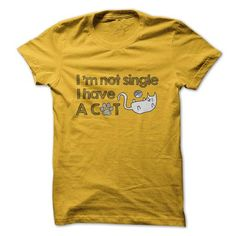 I am not Single I have a Cat T Shirts, Hoodies. Check price ==► https://www.sunfrog.com/Pets/I-am-not-Single-I-have-a-Cat-Shirt.html?41382 $19.99