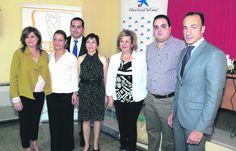 María Eugenia Valdivielso, Inmaculada Casal, Santiago Ruiz, Magdalena Pérez, Teresa Vega, Víctor Torres y Miguel Serrano.