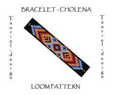 Loom pattern  native american inspired bracelet pattern by Tauriel, $2.99