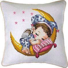 Image result for kanaviçe bebek takı yastığı