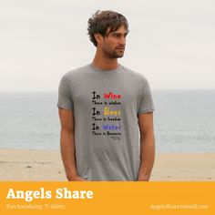 Great custom designed, high quality, printed t-shirts. Lots of fun designs with drinking and socialising as the main theme. check it out ! Funny Drinking Quotes, Main Theme, Cool Designs, Custom Design, Printed, Check, Mens Tops, T Shirt, Fashion
