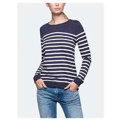 Sweater, Striped sweat - The Sting