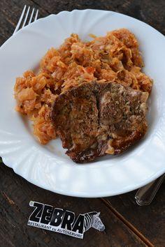 Varza calita cu pulpa de porc Steak, Beef, Pork, Meat, Steaks
