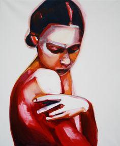 Saatchi Online Artist: Patricia Derks; Oil, 2013, Painting Jadore2