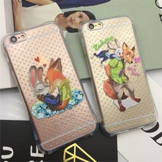 Lovely Disney Rabbit Zootopia Judy shockproof tpu case cover for iphone6 6S plus #UnbrandedGeneric