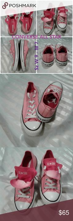 e74ef21eef13 CONVERSE Double Tongue pink M7 W9 All Star Chucks Converse Chuck Taylor  Double Tongue Oxford   Sneaker Color  pink shoes dark soles Size  woman s 9  men s 7 ...