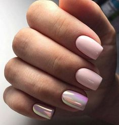 Want a fun summer manicure but think pink nail designs aren't your thing? Miss Nail Addict, listen up. Pink isn't what you remember from your very first manicure. Nail Design Glitter, Pink Nail Designs, Nails Design, Trendy Nails, Cute Nails, Pretty Gel Nails, Hair And Nails, My Nails, Prom Nails