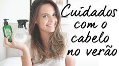 CUIDADOS COM O CABELO NO VERÃO | Luana Viergutz  Vim compartilhar com vocês as minhas dicas para deixar os cabelos super cuidados no verão, pra você encarar a praia e o sol sem medo!! ;)