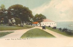 View at Rocky Point, RI, ca. 1906