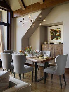 100+ Modern Dining Room Makeover Ideas | Pinterest | Rustikal und ...