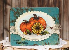 Autumn Birthday by Laurie Schmidlin - features Theresa's new Always Autumn stamp set