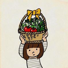 #野菜が高いよ #イラスト