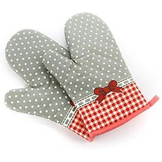 Damast Bowknot Oven Gloves Non-Slip Kitchen Oven Mitts Heat Resistant Cooking Gloves for Cooking, Baking, Barbecue Potholder, Red, 1 Pair Heat Resistant Gloves, Four Micro Onde, Kitchen Oven, Kitchen Appliances, Linen Store, Oven Glove, Oven Cooking, Bbq, Microwave Oven