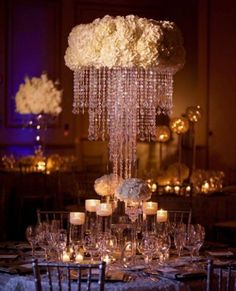 Wholesale high chandelier flower stand centerpieces for wedding chandelier centerpiece wedding aloadofball Gallery