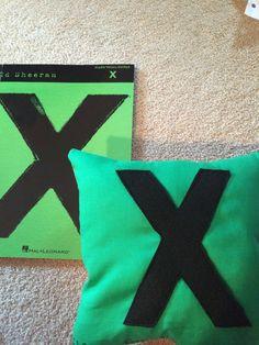 Made an Ed Sheeran pillow!