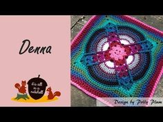 Le Vesinet - Crochet Square - YouTube