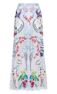 Midi Sail Skirt pretty